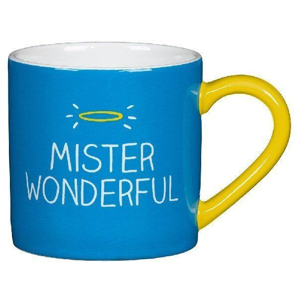 Mr Wonderful Mug - Happy Jackson  #gift #birthday #gifts #stocking #sale #quirky #santa #mzube #cool #xmas