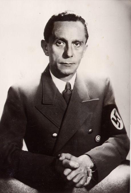 Joseph Goebbels, Minister of Enlightenment and Propaganda ...