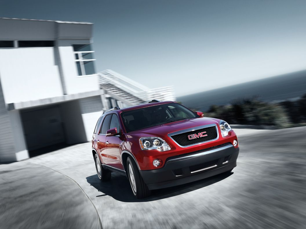 2012 Gmc Acadia Red In Storm Lake Ia At Fitzpatrick Auto Gmc