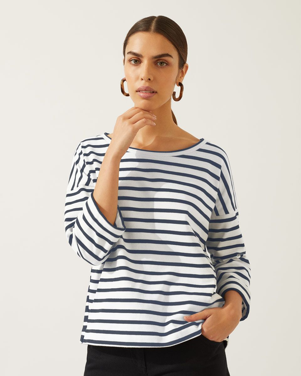 4c95ee6221009 Mixed Breton Stripe Top | Jigsaw | For ME! in 2019 | Tops, Breton ...