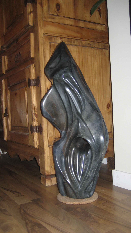 Brazilian soapstone sculpture by trevor moen quot the journey