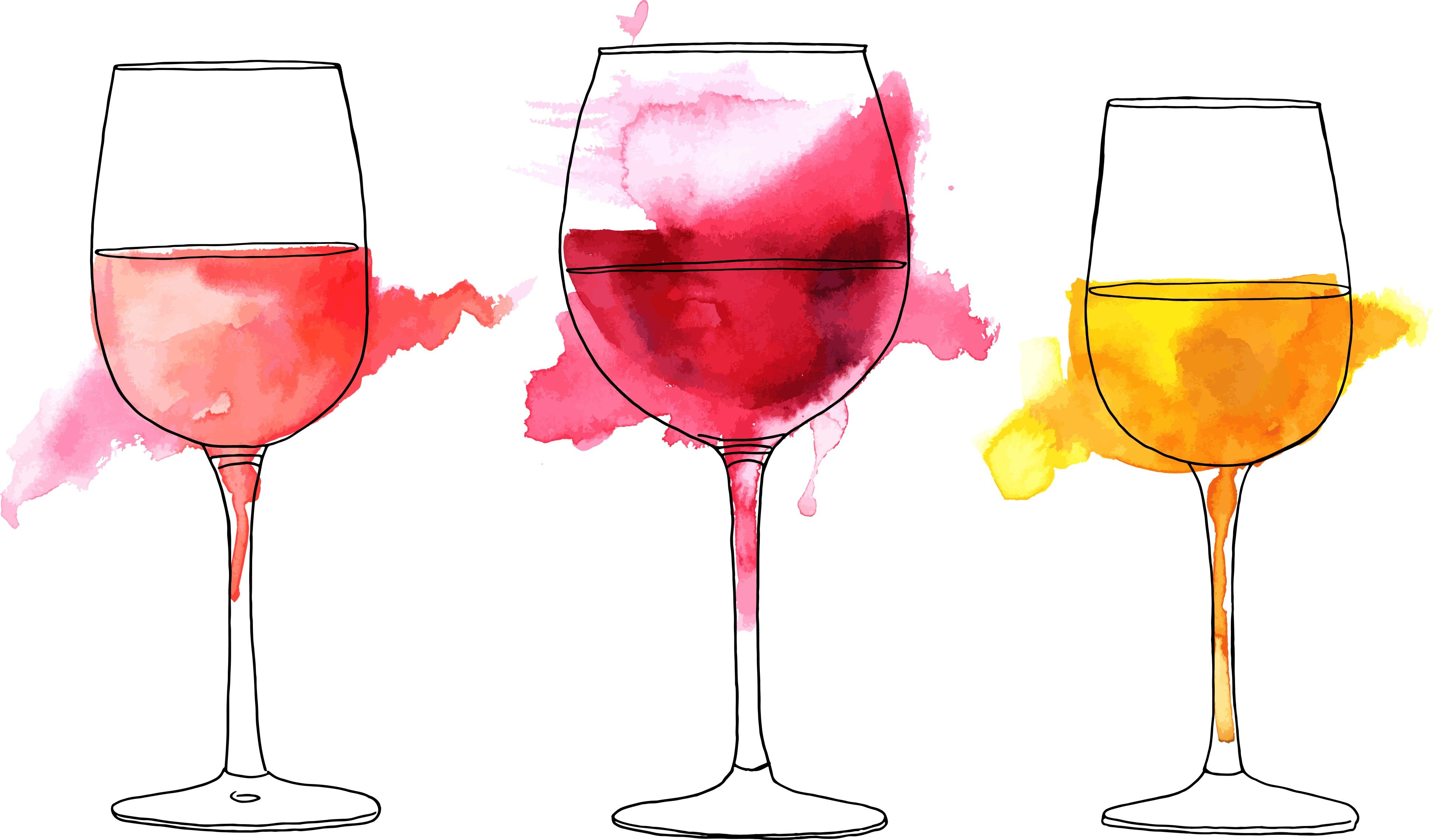 Craft Beer Wine And Food Samples Wine Glass Drawing Wine Glass Tattoo Wine Art