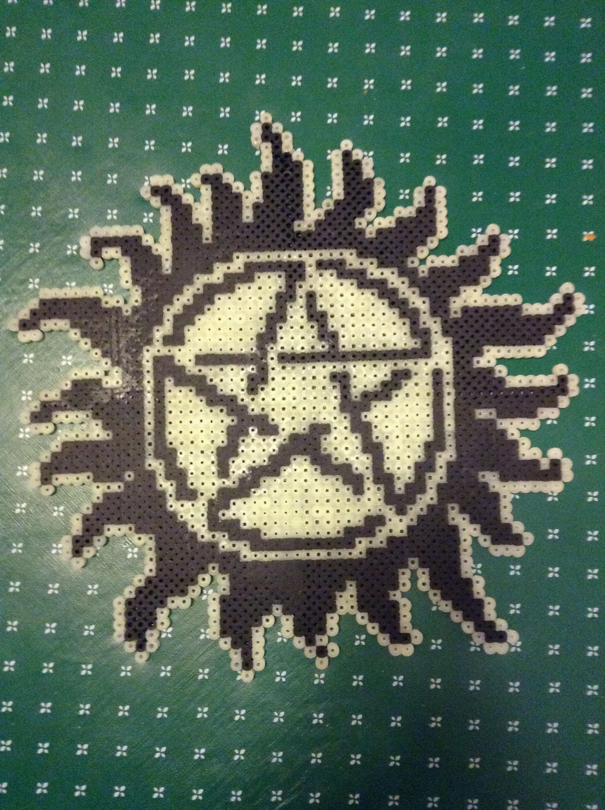 Melty bead AntiPossession tattoo Melty bead designs