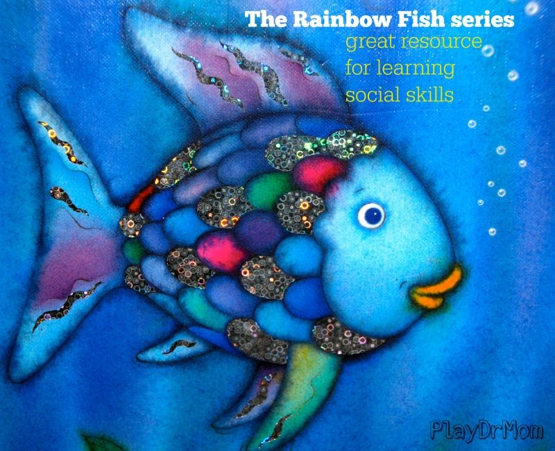 The rainbow fish series by marcus pfister great resource for Rainbow fish story