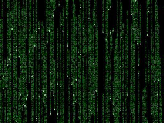 Matrix Binary Code Animation Matrix code 03 high