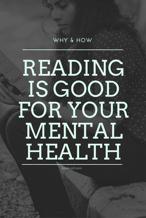 Here's why reading is good for your mental health.