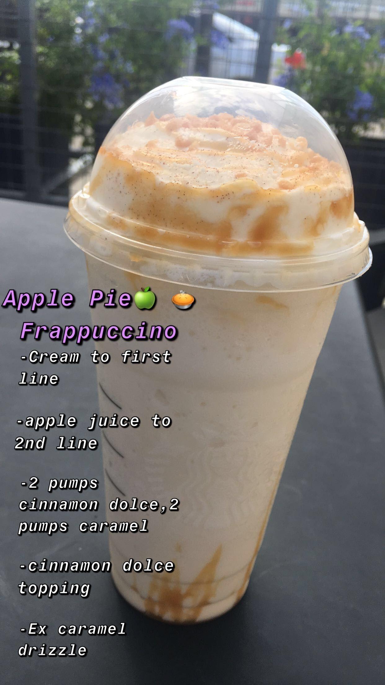 Apple pie Frap