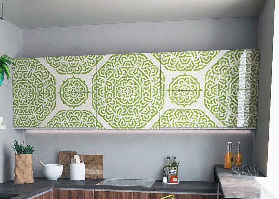 Geometric Mandala - Style Stencil - Unique Modern Geometric Stencil ...
