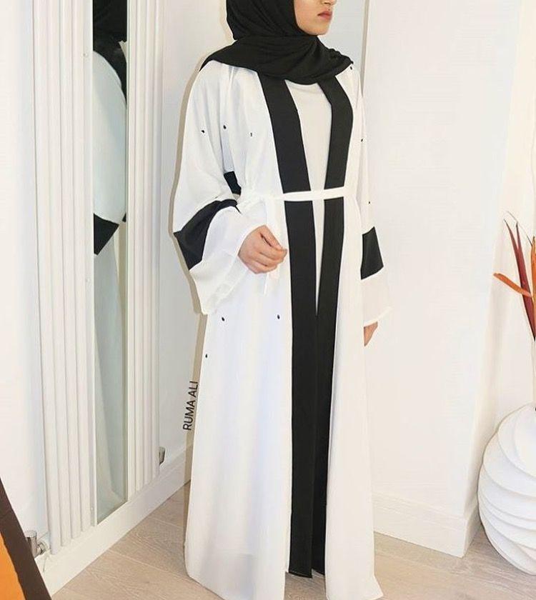 IG: RumaAli_    IG: BeautiifulinBlack    Modern Abaya Fashion   