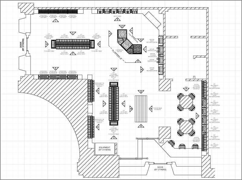 Image result for floor plan of a wine shop Cellar design