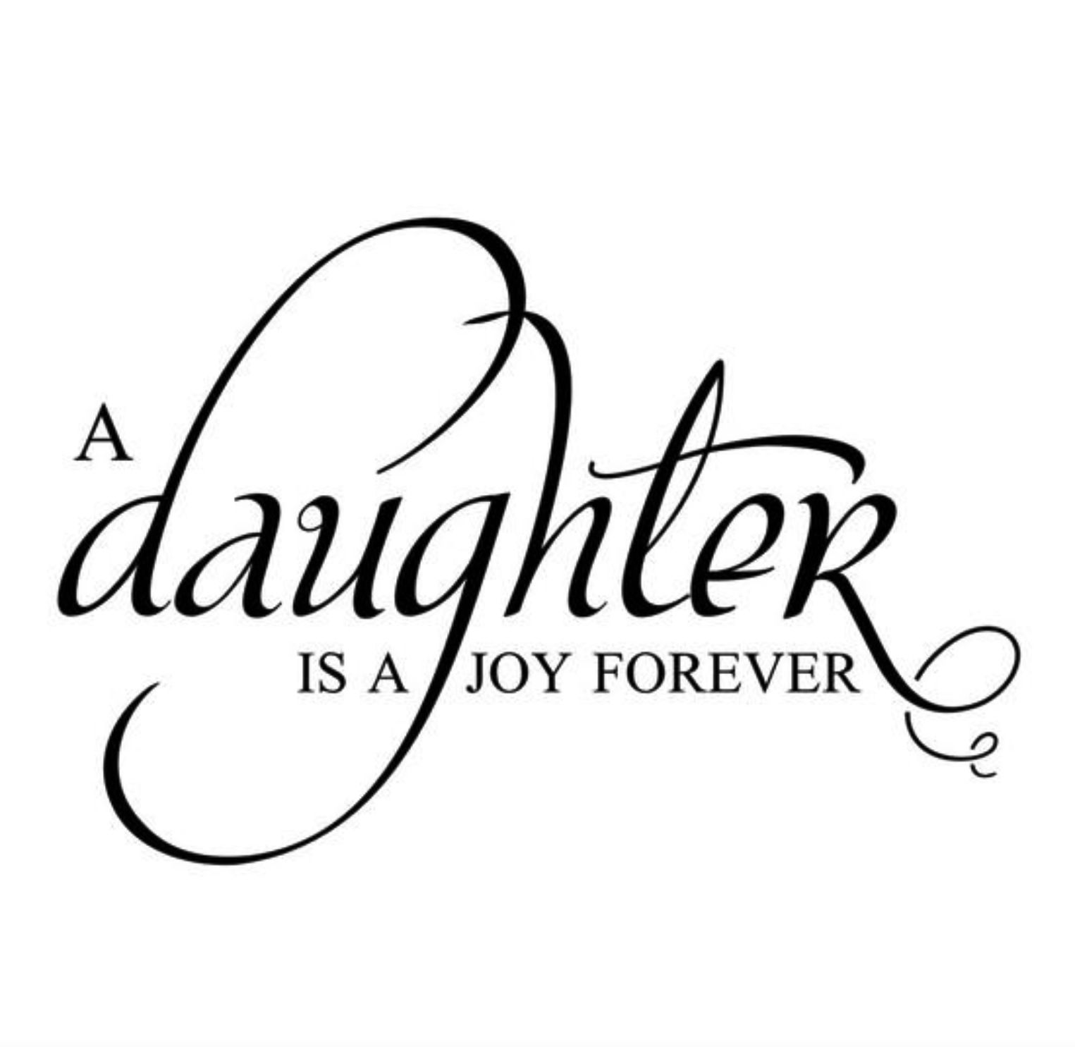 I have such a great and wonderful daughter! She brings so