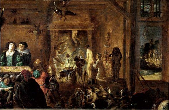 heksensabbath, frans franken, david teniers, ryckaert | Witch, Mystical  art, Art
