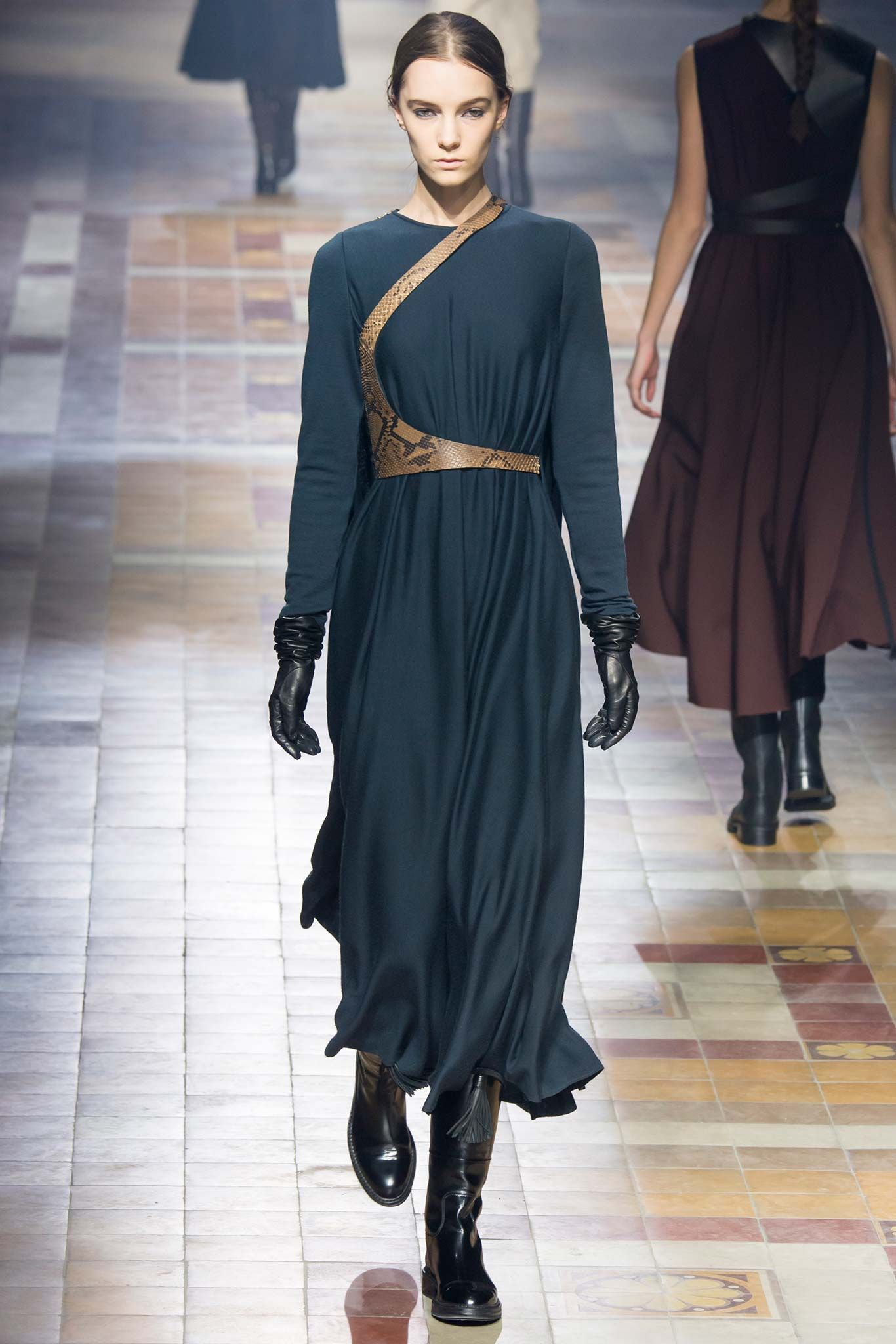 Lanvin - This collection is for the traveler someone who is worldly and also appreciate fabrics and luxury. Thestyleweaver.com Fall 2015 Ready-to-Wear