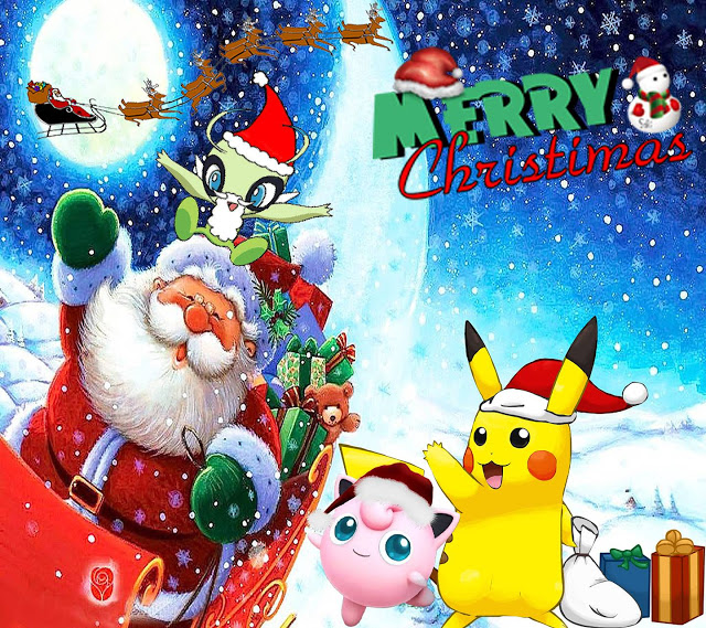 Pokemon Xmas Christmas Wallpaper HD 4k Download