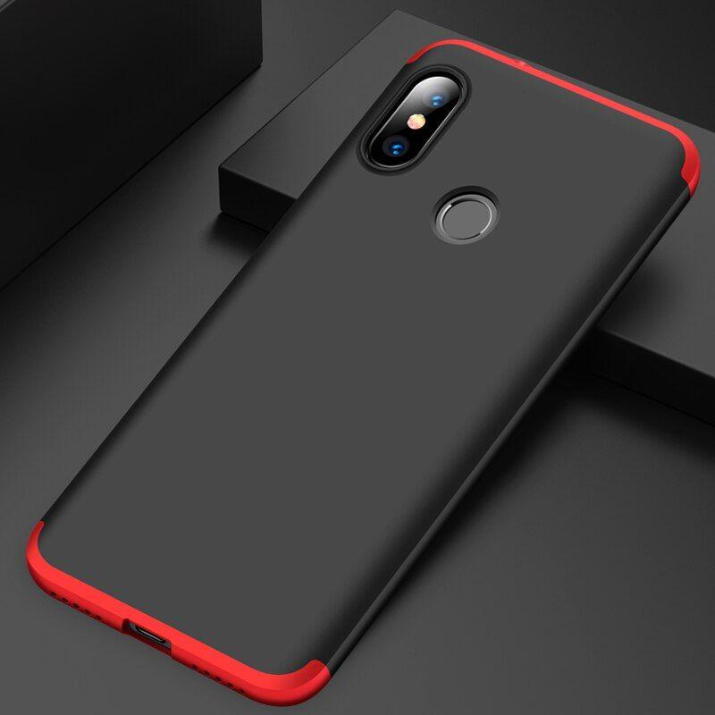 360 Full Protection Case For Xiaomi Mi A2 Lite Case Luxury Hard Pc 3 In 1 Back Cover For Xiaomi Redmi 6 Pro Armor Coque Xiaomi Protection Armor