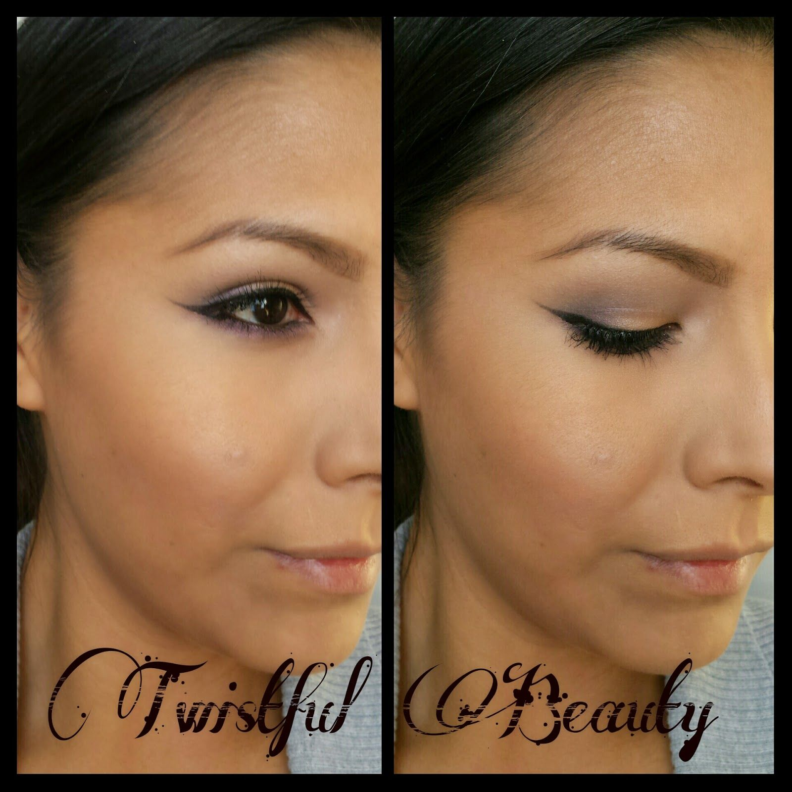 Twistful Beauty- Neutral Look using Candii Blossom Cosmetics