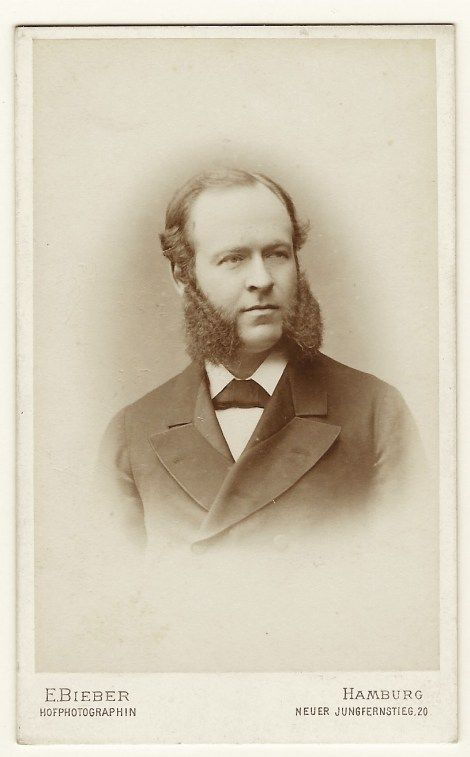 This Carte De Visite Photograph Is By Celebrated Photographer Emilie Bieber Had Two Locations
