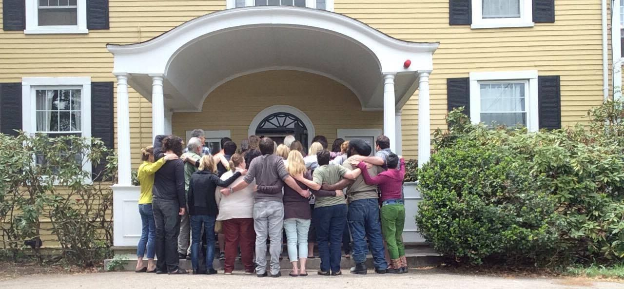 Some members of Gould Farm's BostonArea Extended
