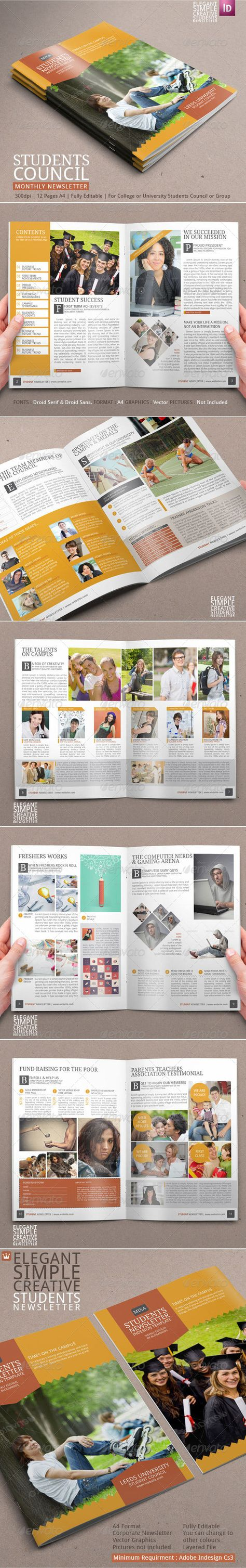 student newsletter template newsletter templates template and