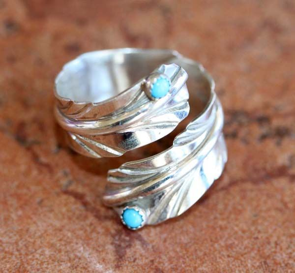 Stacking rings are fabulous | Feather ring, Feather band