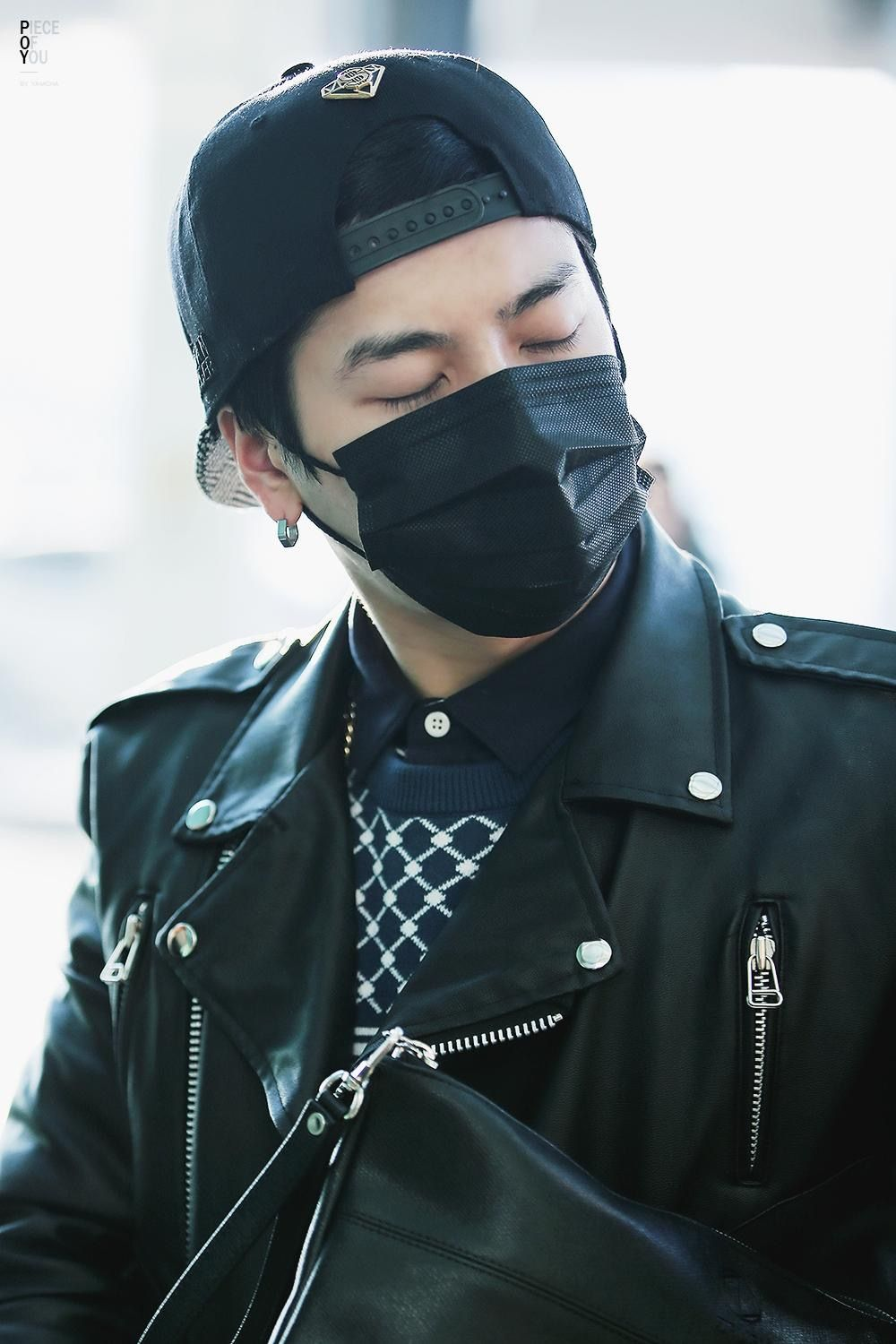 Pin by G7 on 왕 잭슨JACKSON in 2020 Leather jacket