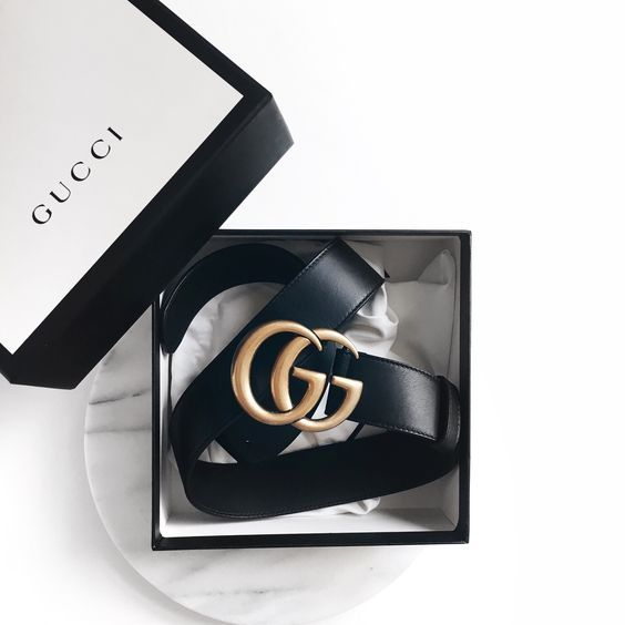 Gucci Belt Size 90 Black Gold G S Black Gold Jewelry Fashion Accessories Gucci Belt