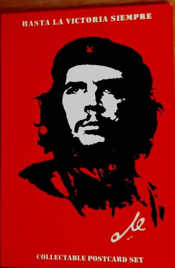 Che Guevara Set Of 9 Postcards Collectable Postcard Set Hasta La Victoria Siempre Enclosed In A Presentat In 2021 Che Guevara Art Che Guevara Images Che Guevara Che guevara hd wallpaper download
