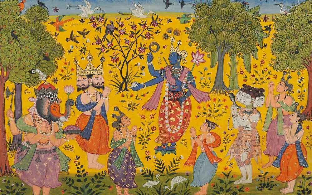 Pin By Warrenj Hudson On Minatures Persian Indian Arabic Painting