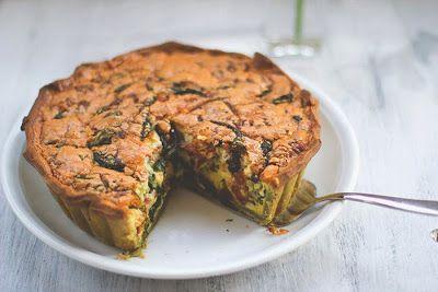 Die Mädchenküche kocht zusammen #2: Spinat-Bacon-Quiche mit grünem Spinat-Ricotta-Boden