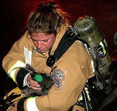 Firefighter hero