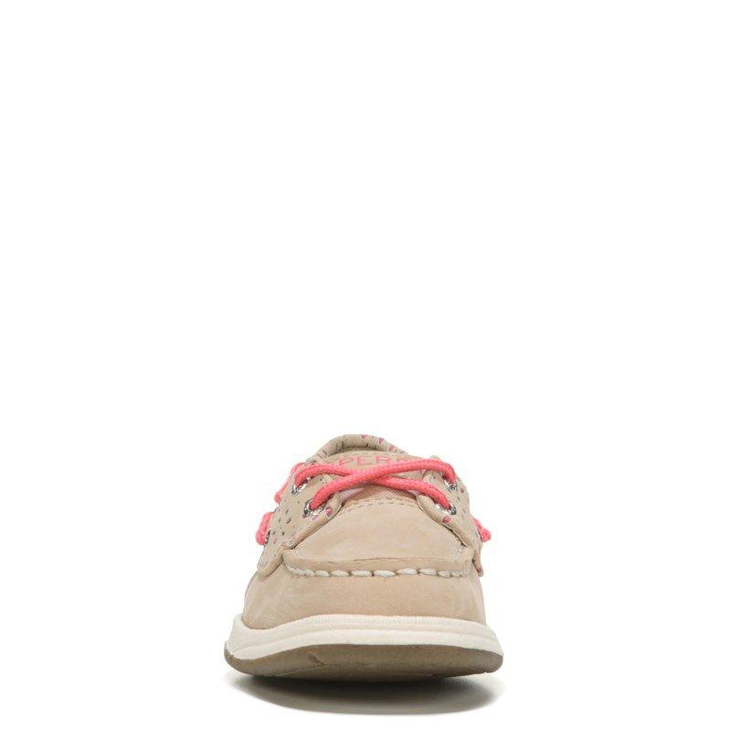 Sperry Top-Sider Kids' Laguna Boat Shoe Pre/Grade School Shoes (Oat/Coral)