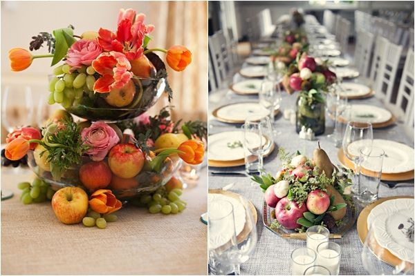 Fruit Centerpieces For Wedding Receptions Image collections ...