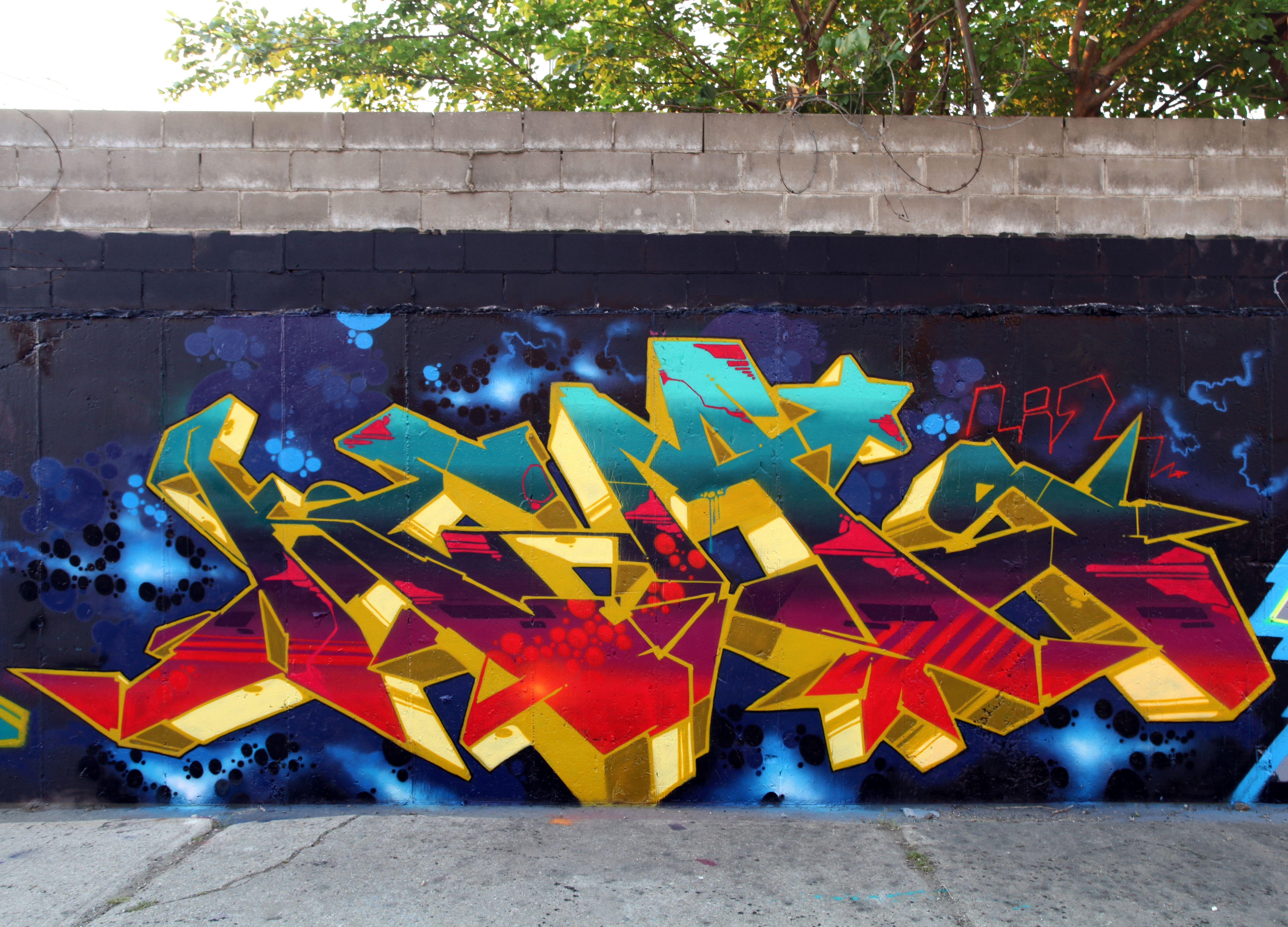 Graffiti murals mural