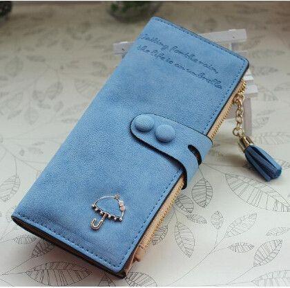 db9813c1d2 Long Women Wallets Luxury Famous Brands Designer Female Bag Ladies Cute  Women's Purse Walet Leather Carteras Card Holder Cuzdan