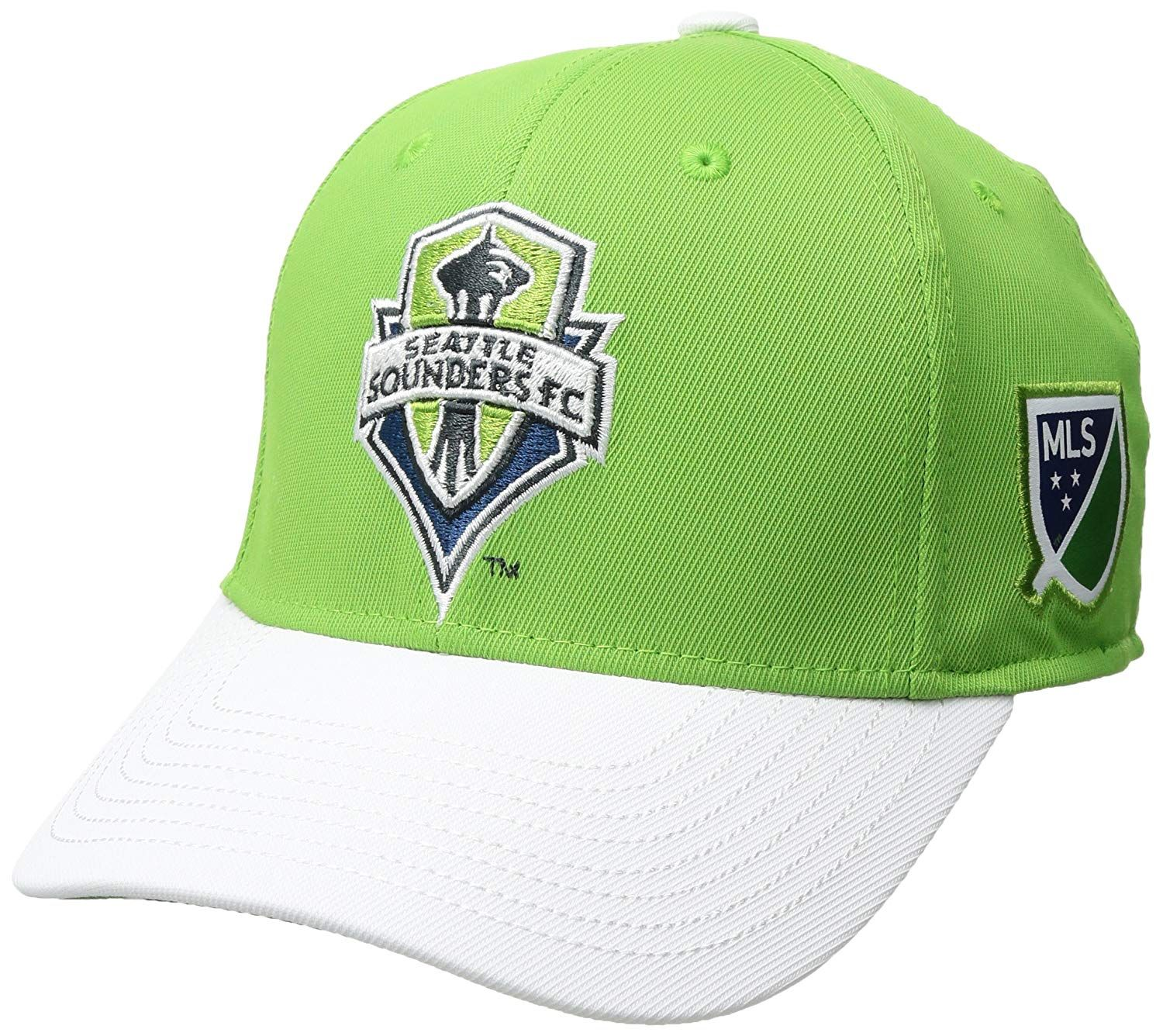 7774cace63c MLS Seattle Sounders FC Adult Champ Structured Flex with Embroidered ...