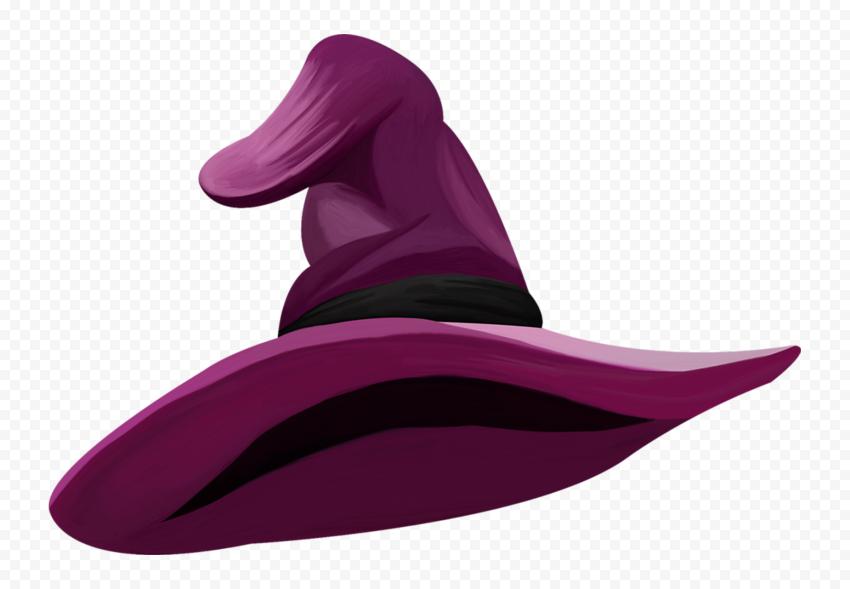 Hd Halloween Witch Hat Purple Clipart Cartoon Illustration Png Cartoon Illustration Halloween Witch Hat Halloween Witch