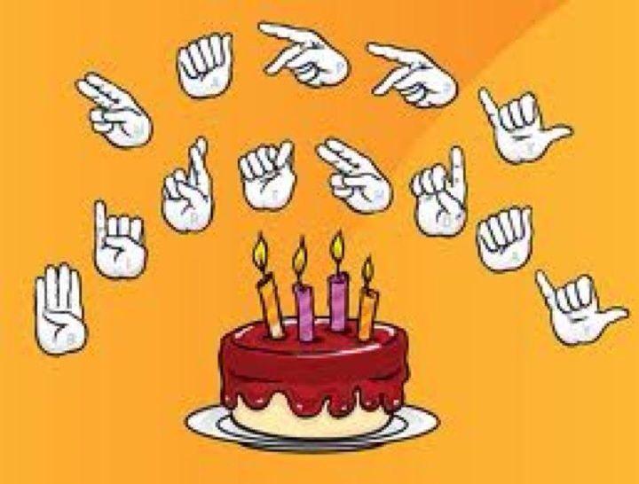 Asl Happy Birthday Sign Language Pinterest Birthday Sign