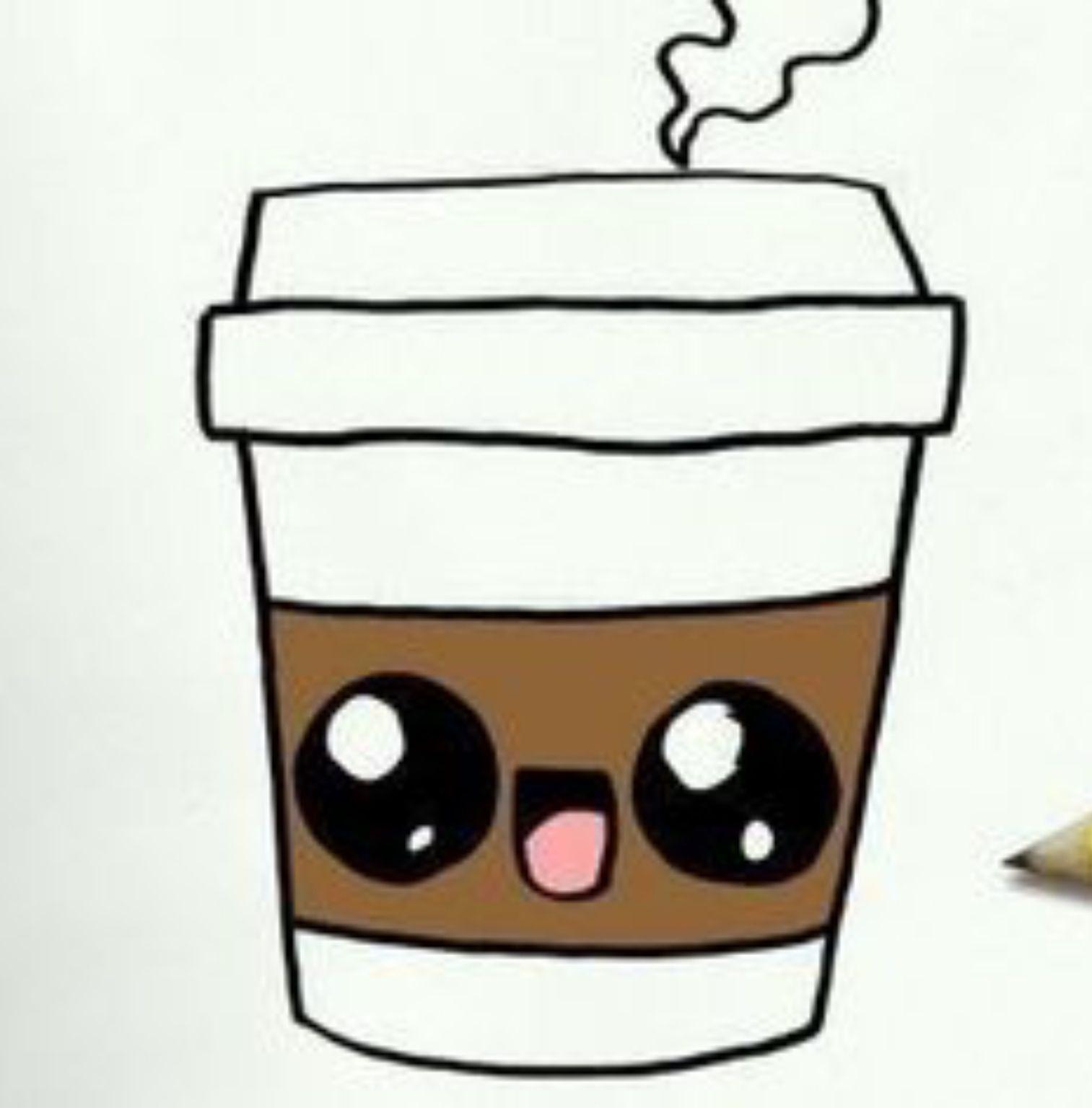 Aww So Cute With Images Cute Easy Drawings Cute Food Drawings