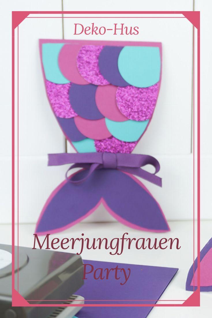 Photo of Ideen Meerjungfrauen Geburtstag Torte und Einladung – Deko-Hus
