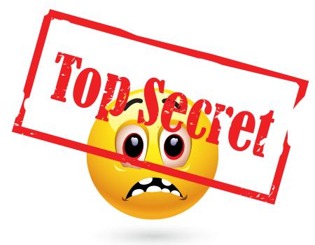 Top Secret Emoticon Smiley Emoticons Emojis Smiley Emoji
