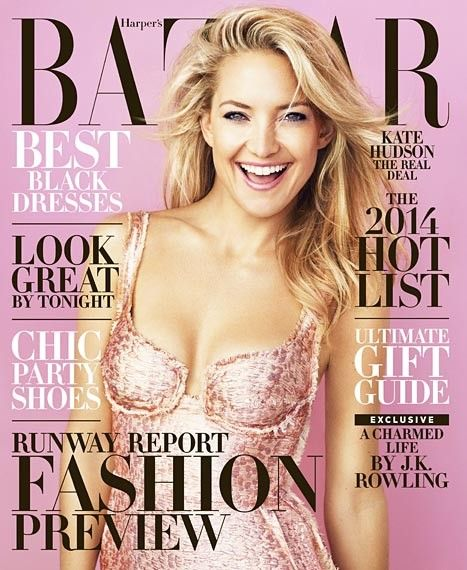 Kate Hudson is 'Loving Becoming an Adult'! See Her Harper's Bazaar Cover Here!  [PHOTOS]