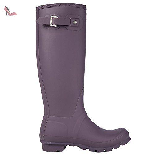Hunter Original Femmes Violet Urchin Tall Bottes en Caoutchouc-UK 7 -  Chaussures hunter ( c253ac7bd0a2