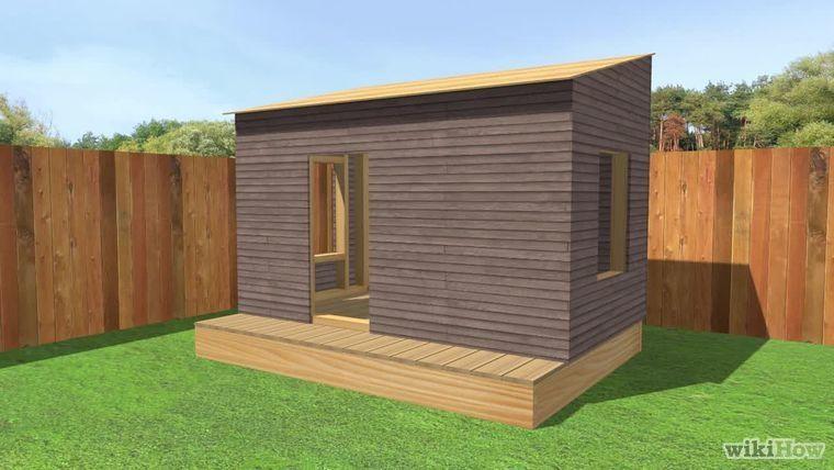 Sebastien (sebos03sbl) on Pinterest - plan maisonnette en bois