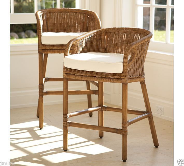 Pleasing Northern Passages Wicker Bar Stools Rattan Counter Stools Pdpeps Interior Chair Design Pdpepsorg