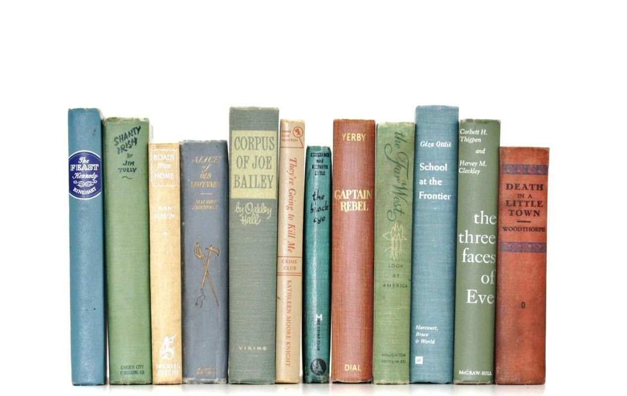 Vintage Bookshelf Fillers On Etsy