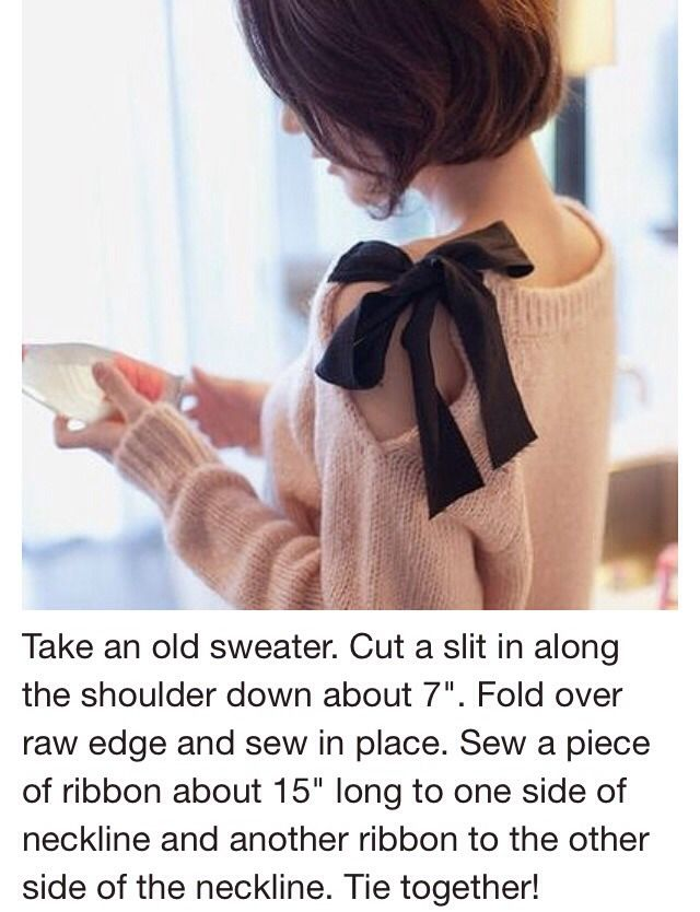 Have A Old Sweater? Turn Into This  #Fashion #Trusper #Tip