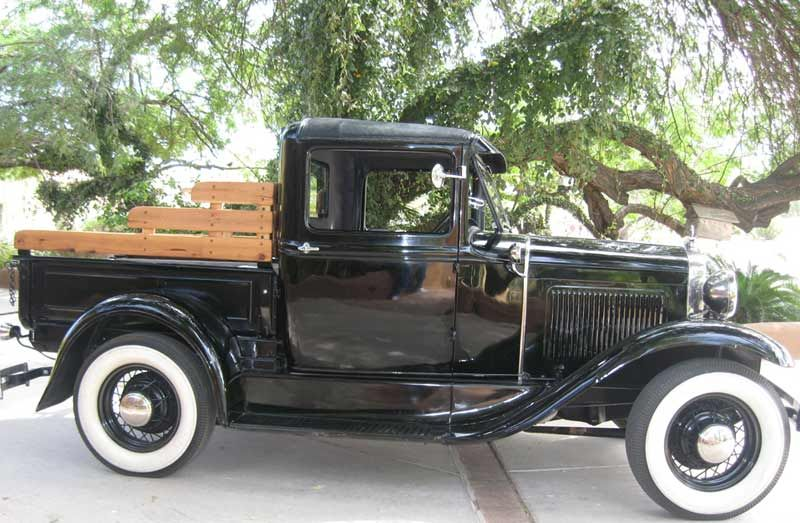 1930 Model A Ford Truck When My Kids Were Young We Had One Of These Just For Fun It Was Yellow