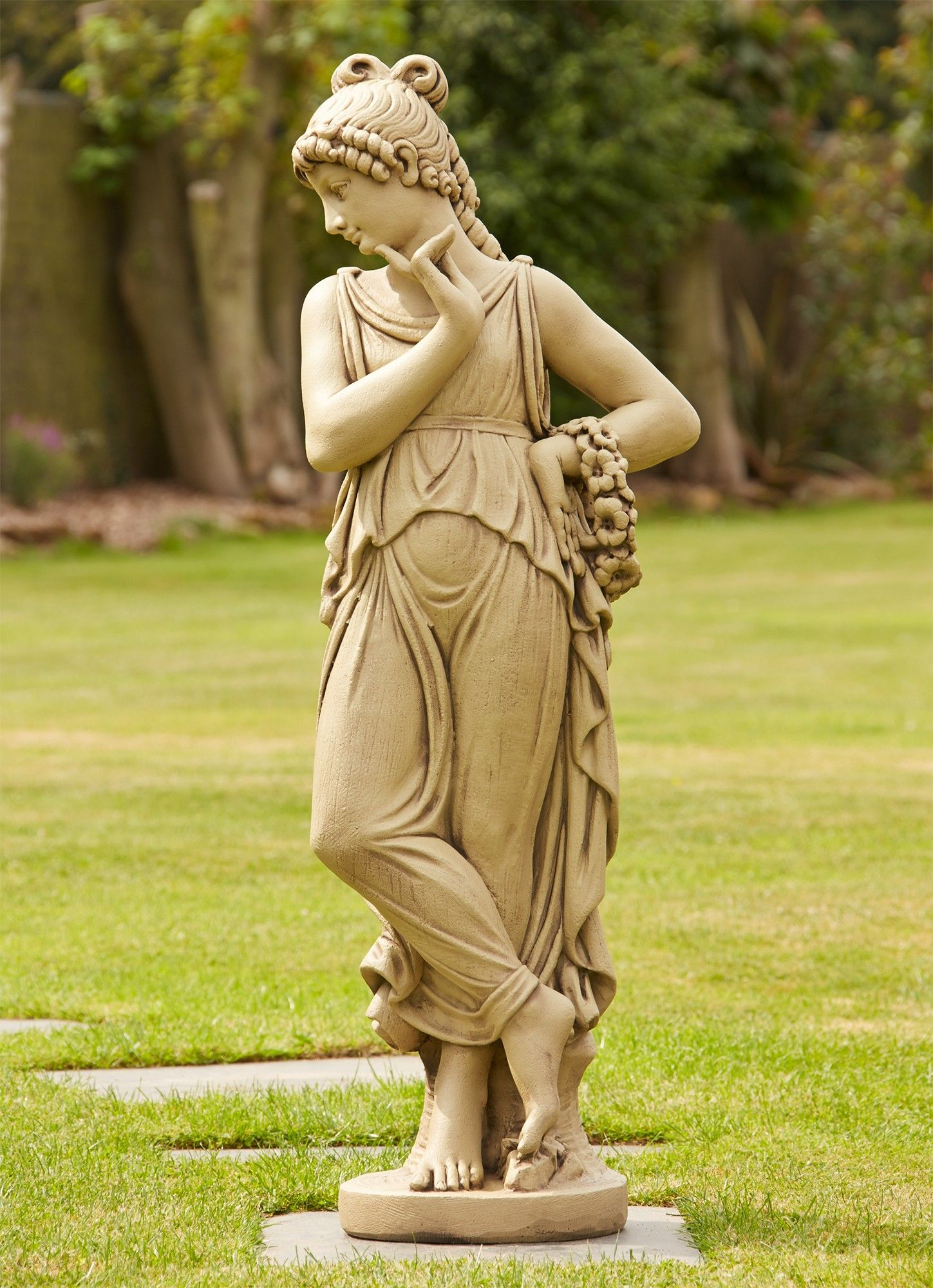 Unique lawn ornaments - View The Nude Elise Stone Sculpture Large Garden Statue Or See Our Full Range Of Exquisite Unique To Statues Sculptures Online