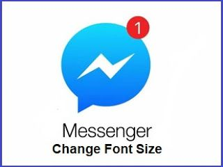 Change font size on facebook