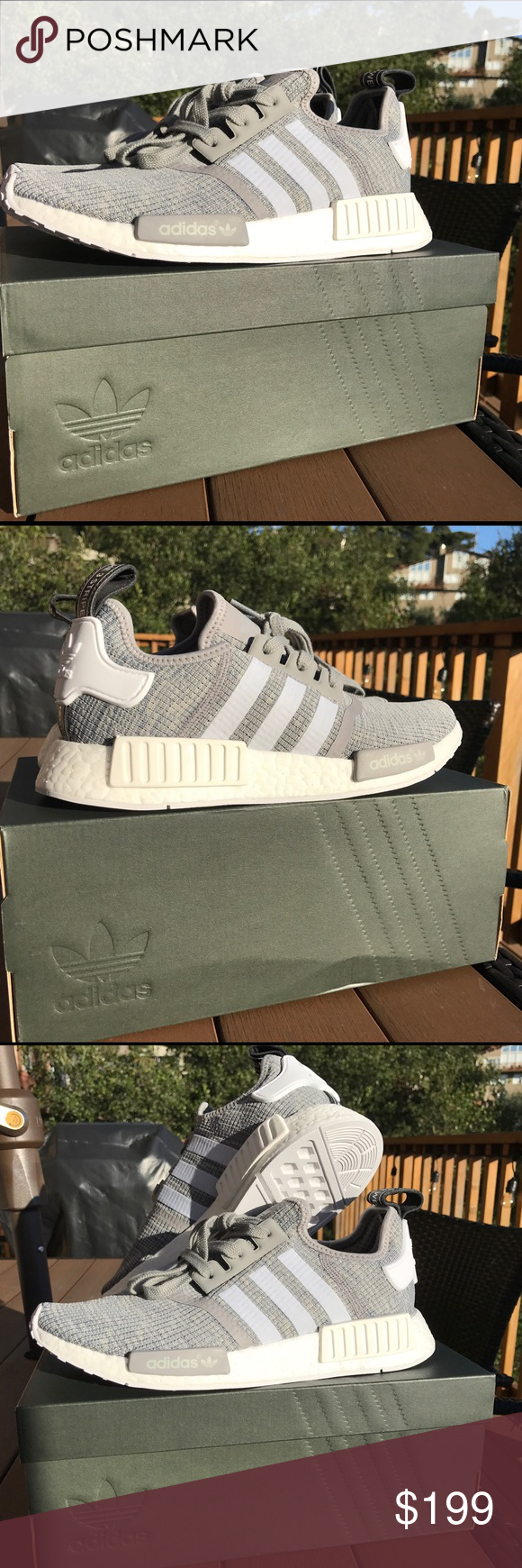 Adidas NMD R1 Glitch Kicks On Fire